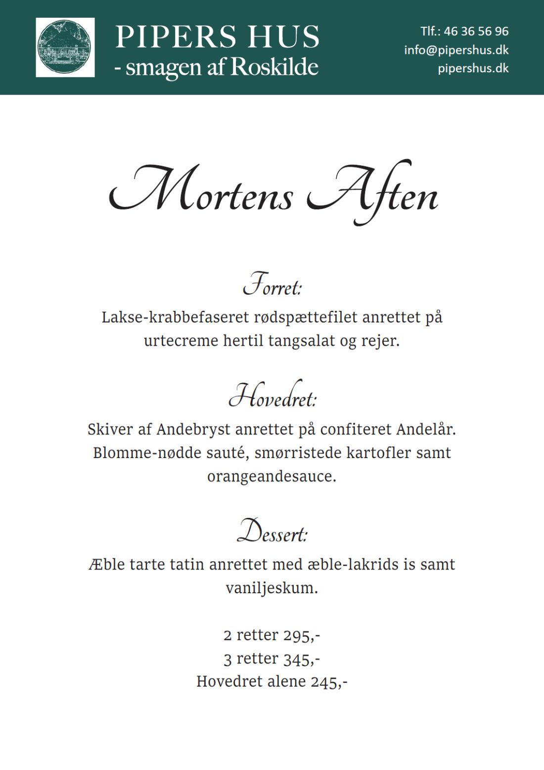 Mortens Aften 2021